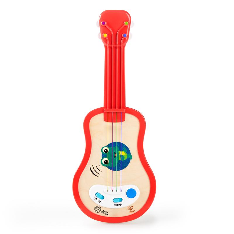 BABY EINSTEIN - Hračka drevená hudobná ukulele Magic Touch HAPE 12m+