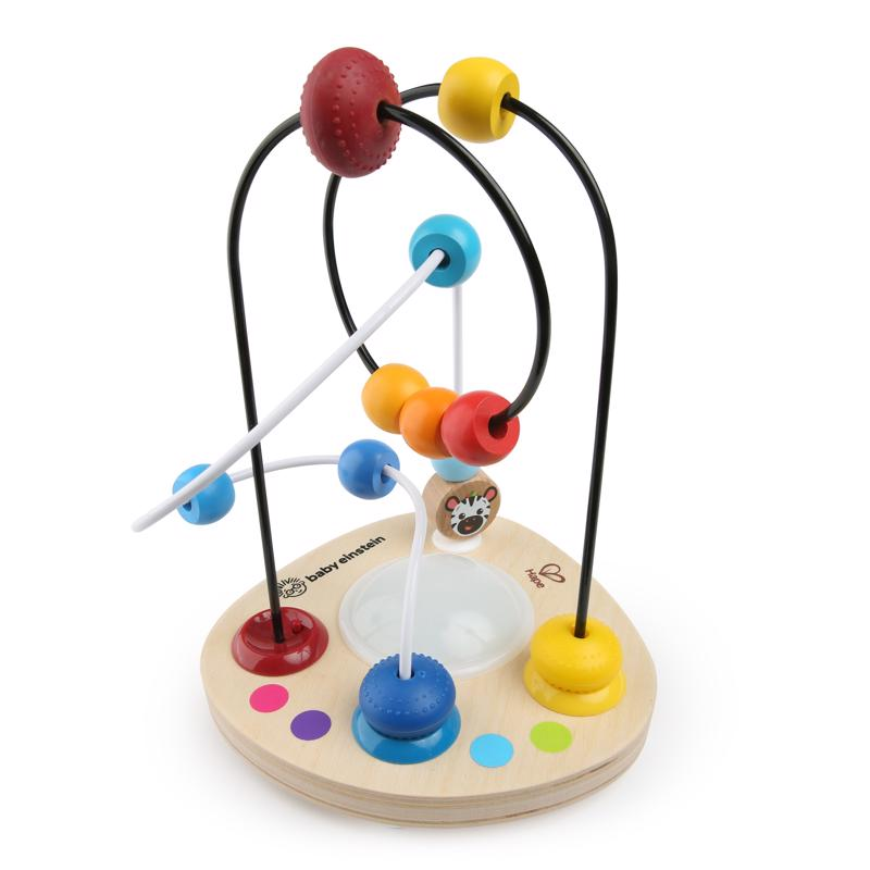 BABY EINSTEIN - Hračka drevená labyrint Color Mixer HAPE 12m+