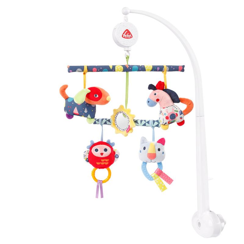 BABY FEHN - Aktivity hrací kolotoč COLOR Friends