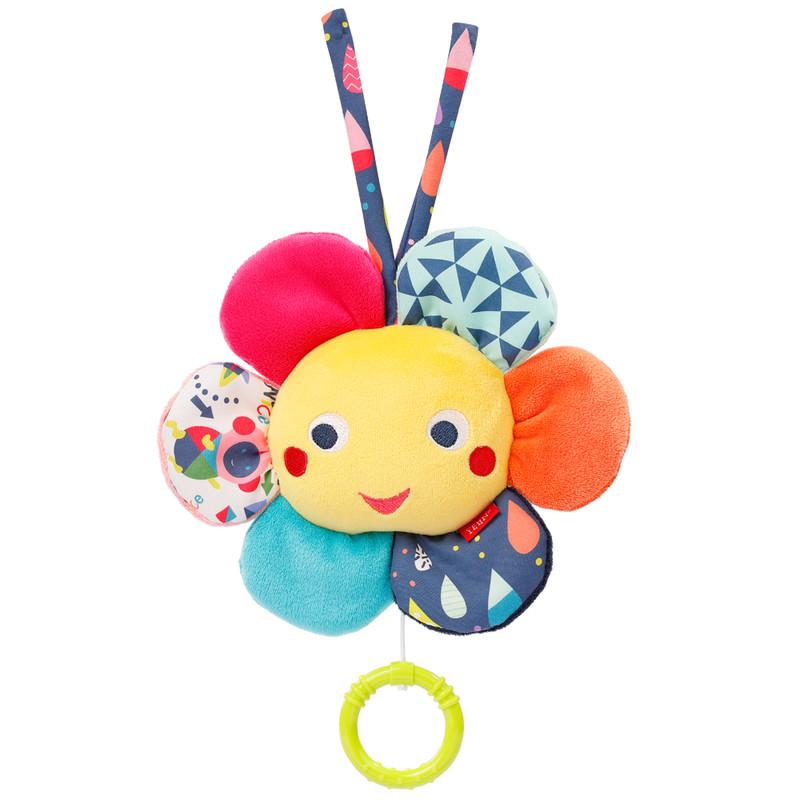BABY FEHN - Hrací kvietok, Color friends