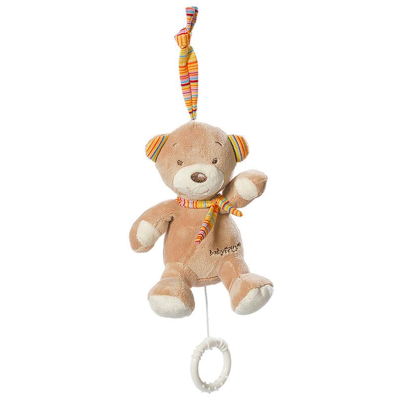 BABY FEHN - Rainbow mini-hrací macko