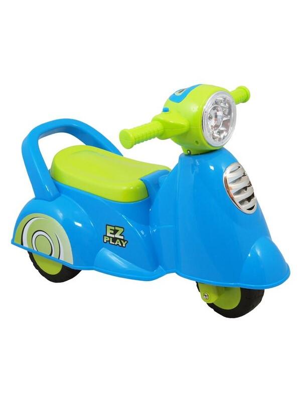 BABY MIX - Detské jazdítko so zvukomScooter blue