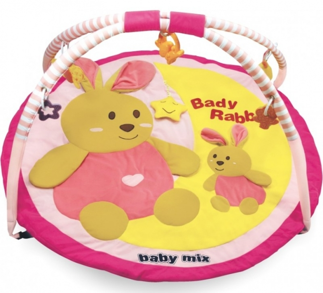 BABY MIX - Hracia deka -Králiky