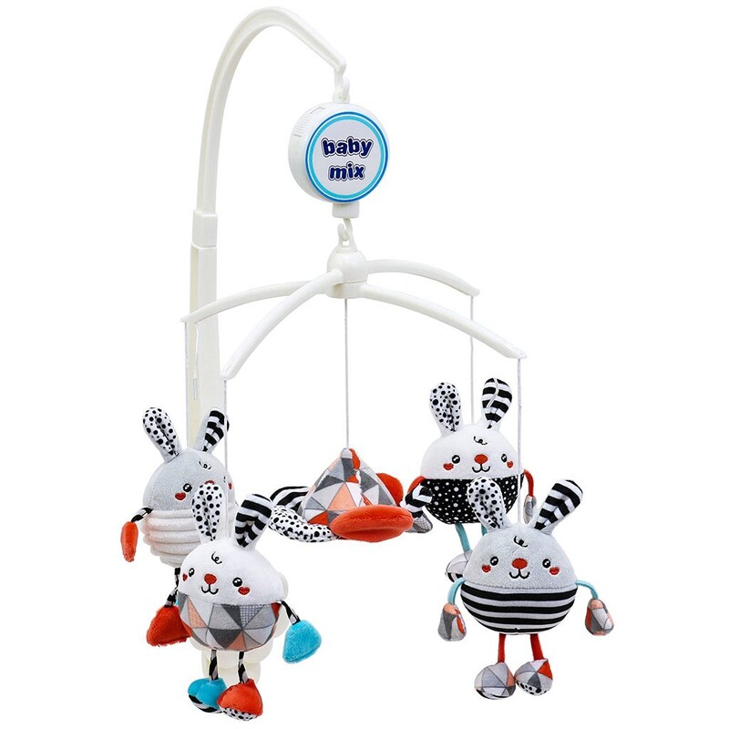 BABY MIX - Kolotoč nad postieľku Králiky