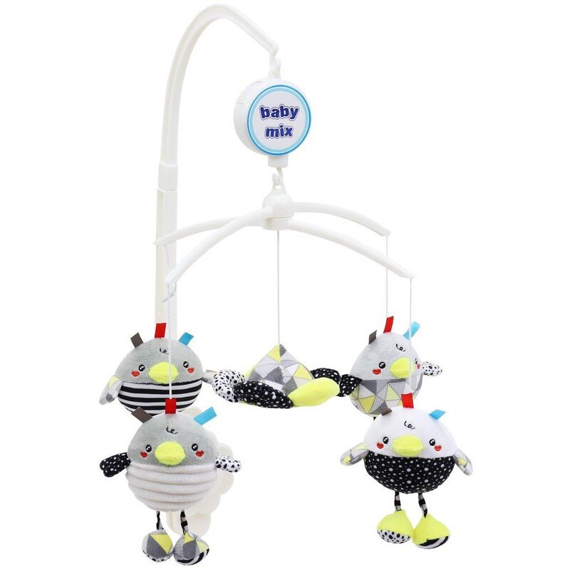 BABY MIX - Kolotoč nad postieľku Sliepočky