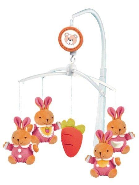BABY MIX - Kolotoč nad postieľku Zajačikovia