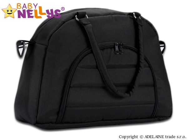 BABY NELLYS - Taška na kočík ® ADELA LUX - čierna
