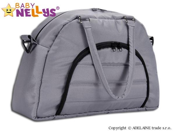 BABY NELLYS - Taška na kočík ® ADELA LUX - šedá