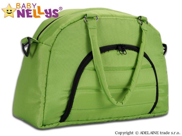 BABY NELLYS - Taška na kočík ® ADELA LUX - zelená