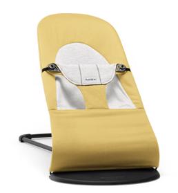 BABYBJÖRN - Lehátko Soft Soft Yellow/Grey, Cotton/Jersey