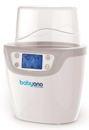 BABYONO - Digitálny ohrievač fliaš 2v1 so sterilizátorom - LCD