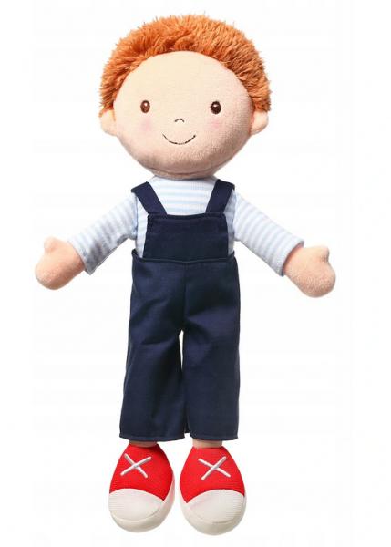 BABYONO - Handrová bábika Oliver Doll, granátové