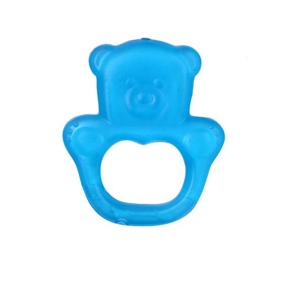 BABYONO - Hryzačka chladiaca medveď - modrá