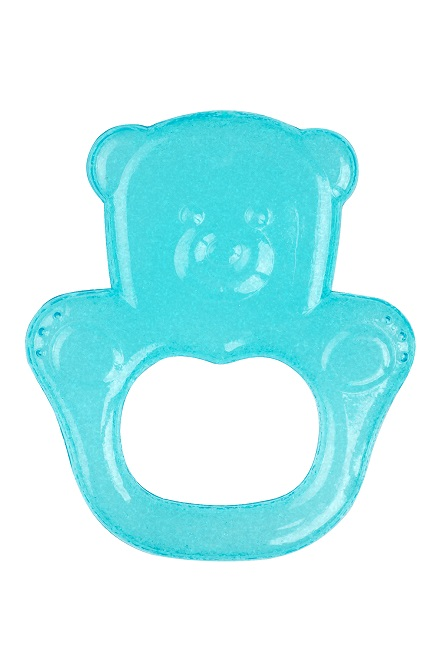 BABYONO - Hryzačka chladiaca medveď - tyrkysová
