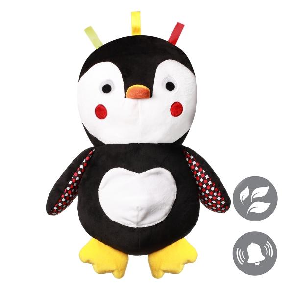 BABYONO - Plyšová hračka Tučňáček Connor, 16 cm