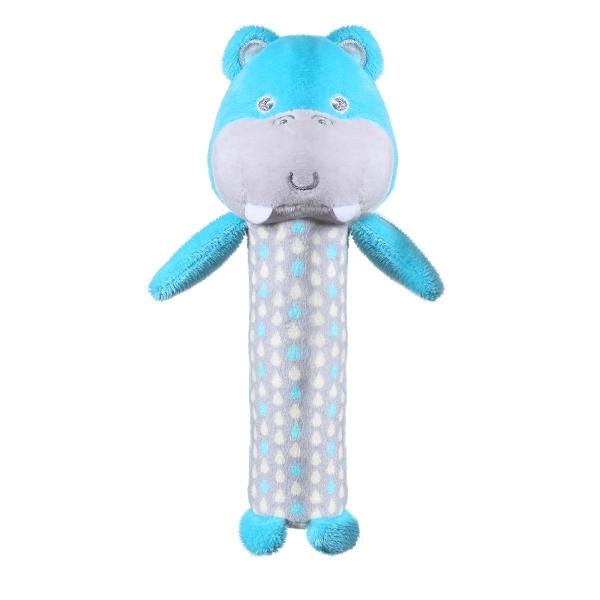 BABYONO - Plyšová pískacia hračka Hippo Marcel, 17 cm