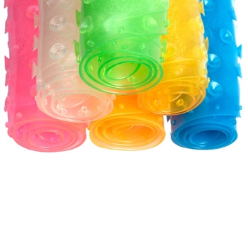 BABYONO - Protišmyková podložka do vane malá - mix farieb