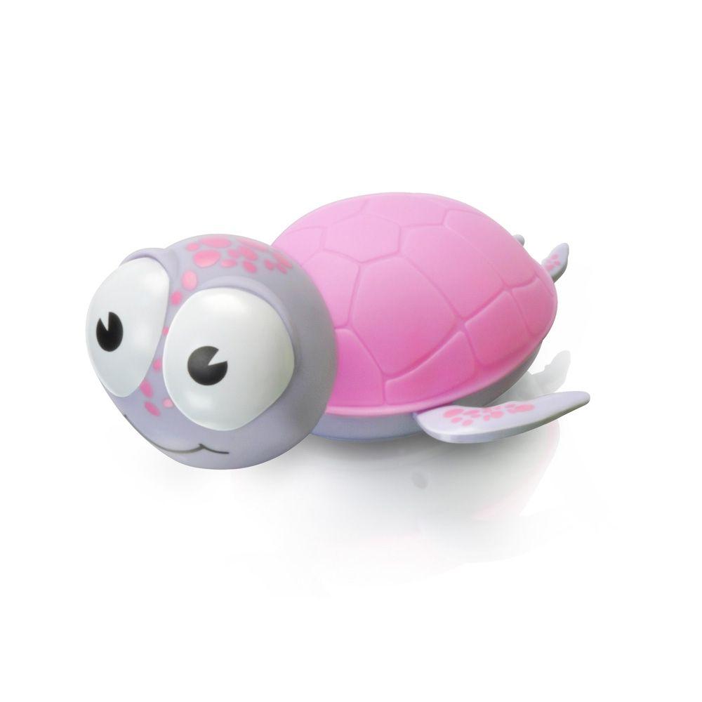 BABYZOO - Babyzoo nočná svetelná korytnačka - ružová