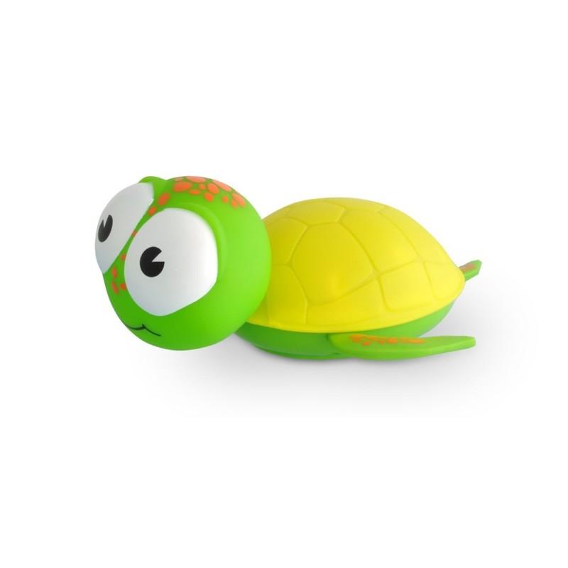 BABYZOO - Babyzoo nočná svetelná korytnačka - žlto-zelená
