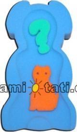 BADUM - Matračku - huba na kúpanie bábätiek Maxi- Modrá