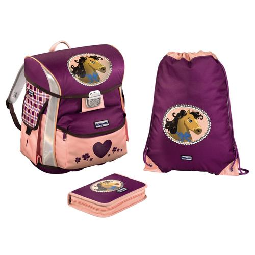 BAGGYMAX - Školská taška - 3-dielny set, Baggymax Poník