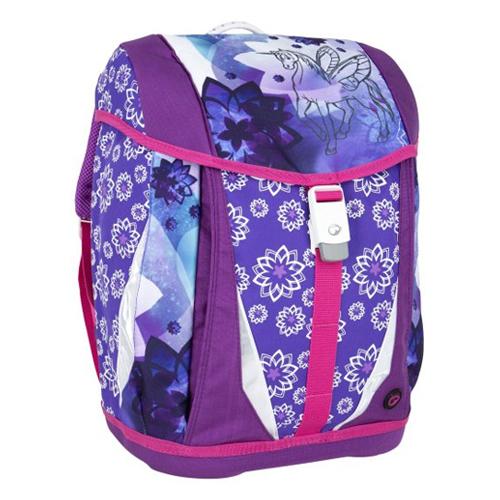 BAGMASTER - Školská taška POLO 6 A Jednorožec