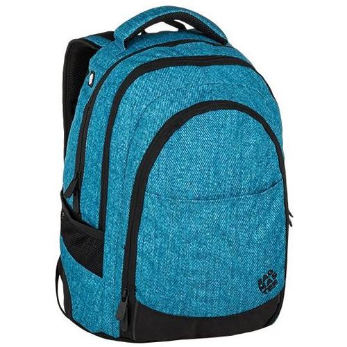 BAGMASTER - Študentský batoh DIGITAL 9 D BLUE/BLACK