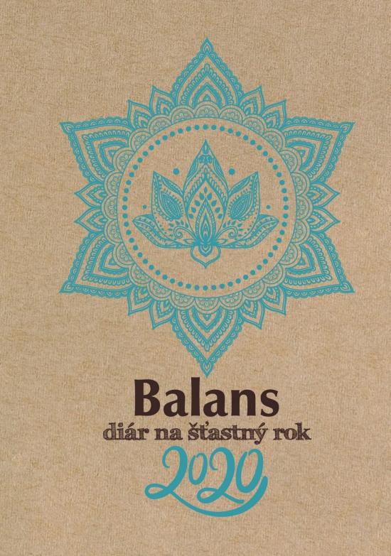 Balans diár na šťastný rok 2020 - redakcia BALANS