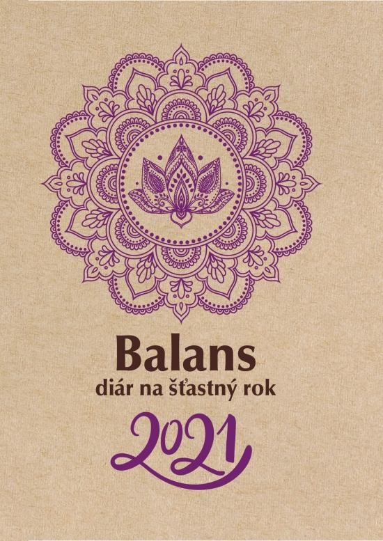 Balans diár na šťastný rok 2021 - redakcia BALANS