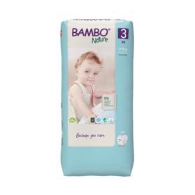 BAMBO - Nature Jednorázové plienky 3 Tall, 52 ks, pre 4-8 kg