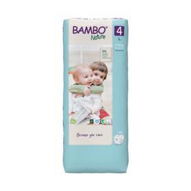 BAMBO - Nature Jednorázové plienky 4 Tall, 48 ks, pre 7-14 kg