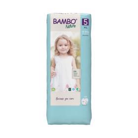 BAMBO - Nature Jednorázové plienky 5 Tall, 44 ks, pre 12-18 kg