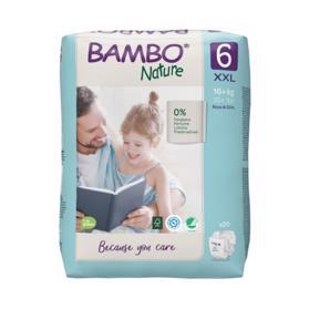 BAMBO - Nature Jednorázové plienky 6, 20 ks, pre 16+ kg