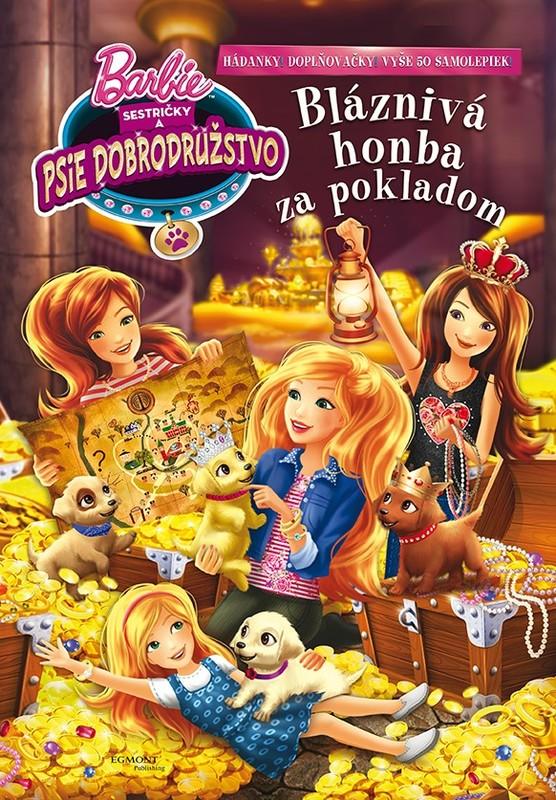 Barbie - Sestričky a psie dobrodružstvo - Bláznivá honba za pokladom - Mattel
