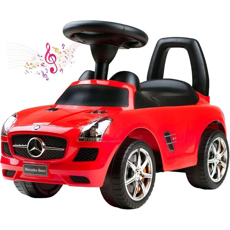 BAYO - Detské jazdítko-odrážadlo Mercedes-Benz red