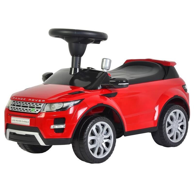 BAYO - Detské odrážadlo Range Rover Evoque red