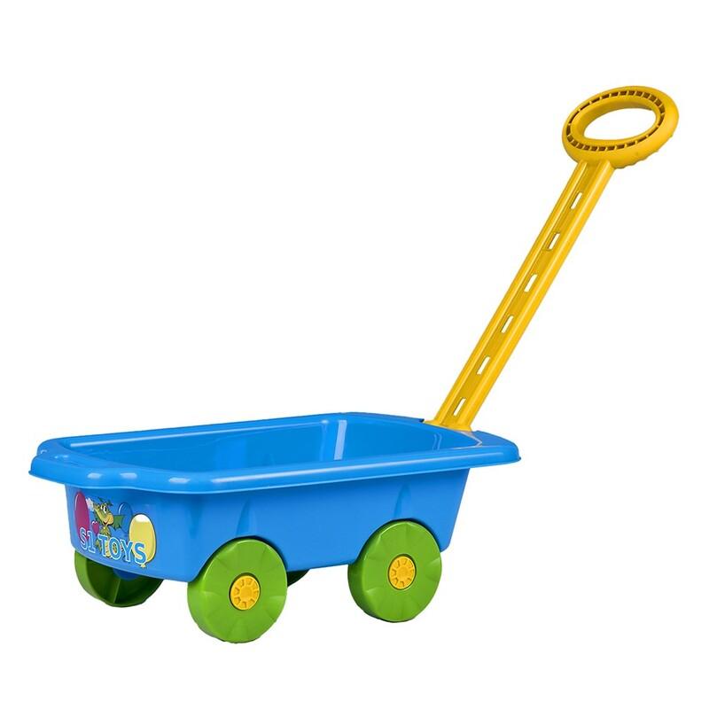 BAYO - Detský vozík Vlečka 45 cm modrý