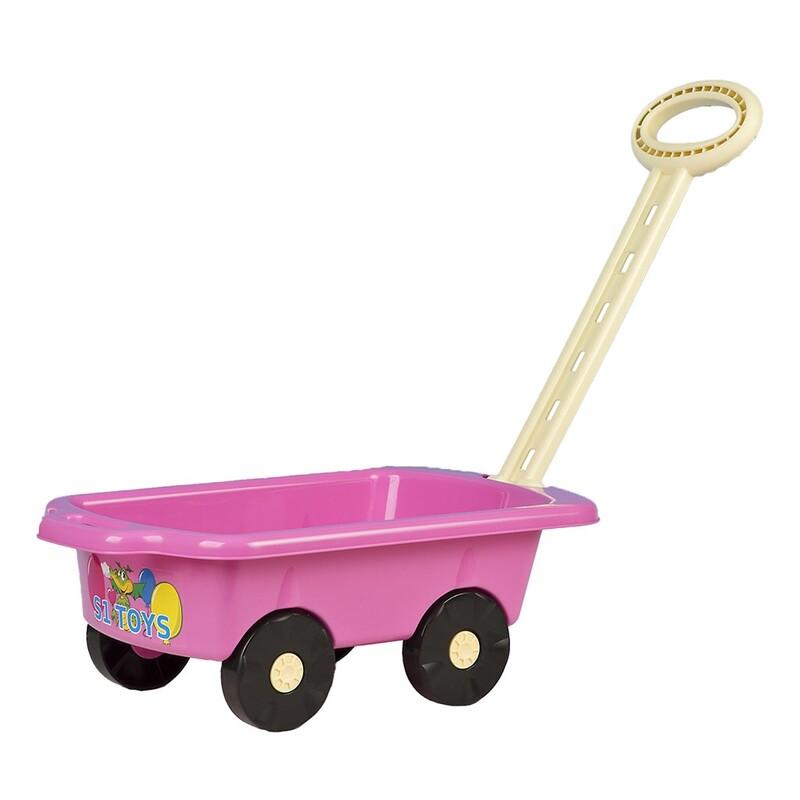 BAYO - Detský vozík Vlečka 45 cm rúžový