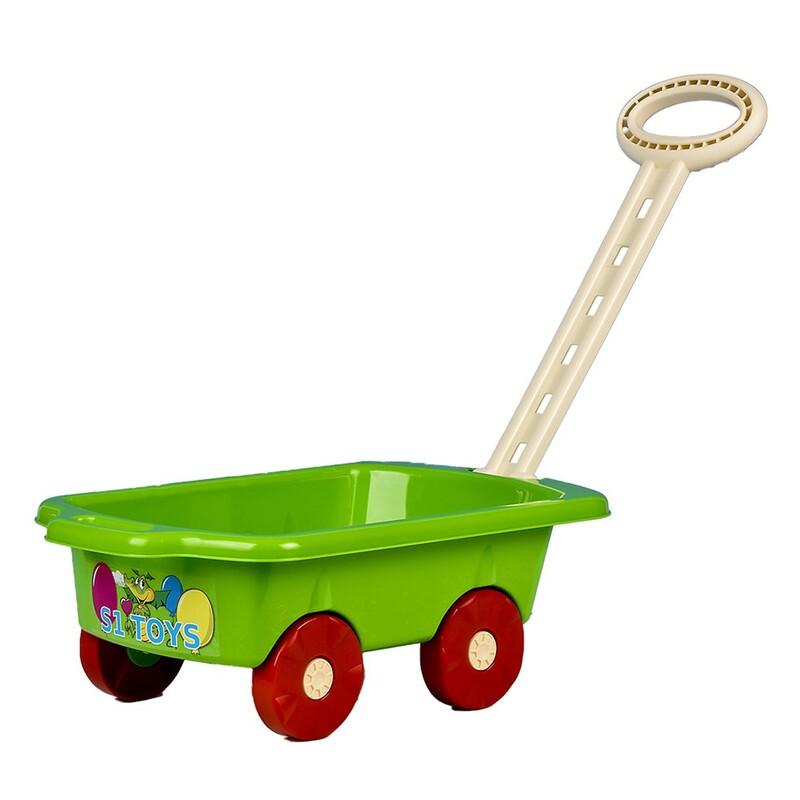 BAYO - Detský vozík Vlečka 45 cm zelený