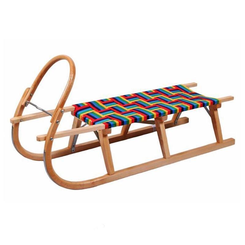 BAYO - Klasické drevené sánky