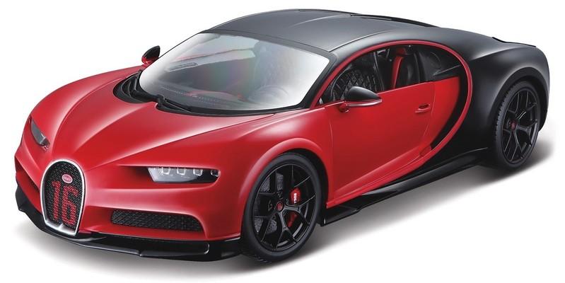 BBURAGO - 1:18 Plus Bugatti Chiron Sport PLUS red