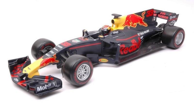 BBURAGO - 1:18 Race F1 Red Bull racing Tag Heuer RB13 (nr.33 Max Verstappen)