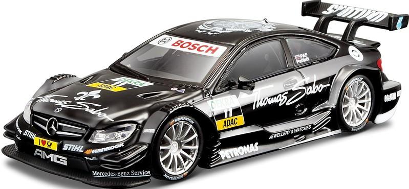 BBURAGO - 1:32 Race DTM Mercedes AMG C-Coupé DTM #11 Gary Paffett