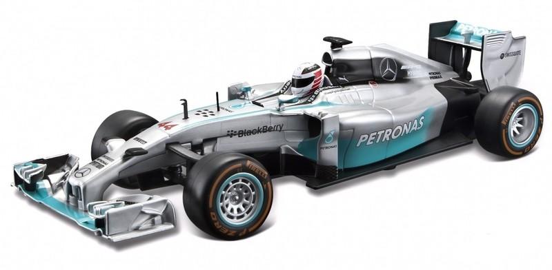 BBURAGO - 1:32 Race F1 Mercedes Lewis Hamilton