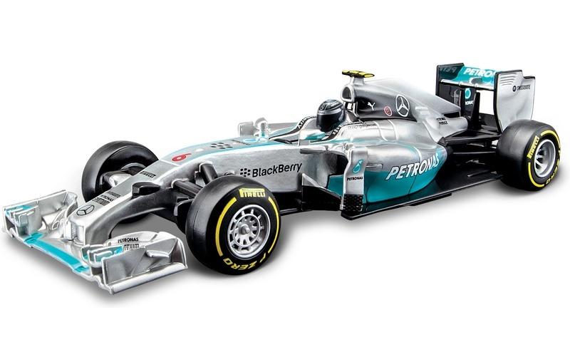 BBURAGO - 1:32 Race F1 Mercedes Nico Rosberg