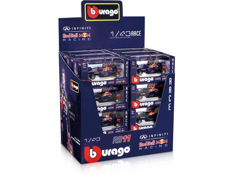 BBURAGO - 1:43 F1 Red Bull