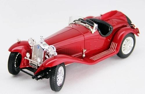 BBURAGO - Alfa Romeo 8C 2300 Spider Touring 1:18 Red