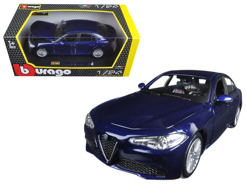 BBURAGO - Alfa Romeo Giulia 1:24 Blue
