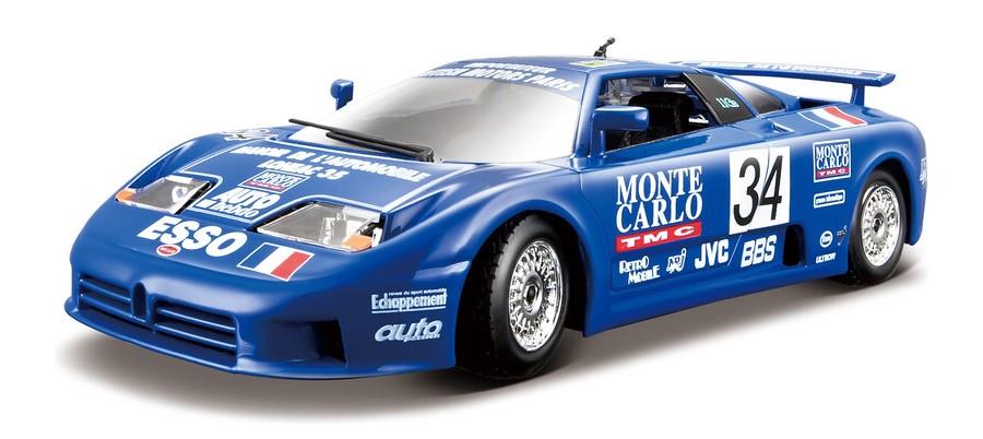 BBURAGO - Bugatti EB 110 Super Sport (1994 Race) 1:18 PLUS