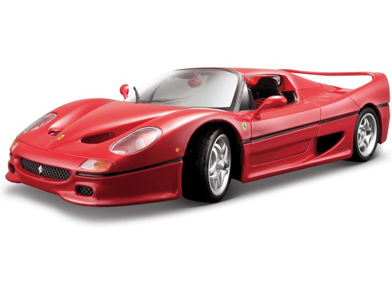 BBURAGO - F50 (Closed Top) 1:18 Ferrari Race&Play
